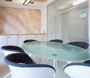 Tavolo riunioni - poltroncine design