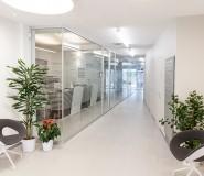 sportello bancario - progetto e realizzazione - pareti vetrate