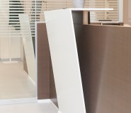 corian - reception design